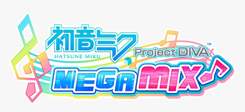 Hatsune Miku Project Diva Megamix - Hatsune Miku Project Diva Mega Mix, HD Png Download, Free Download