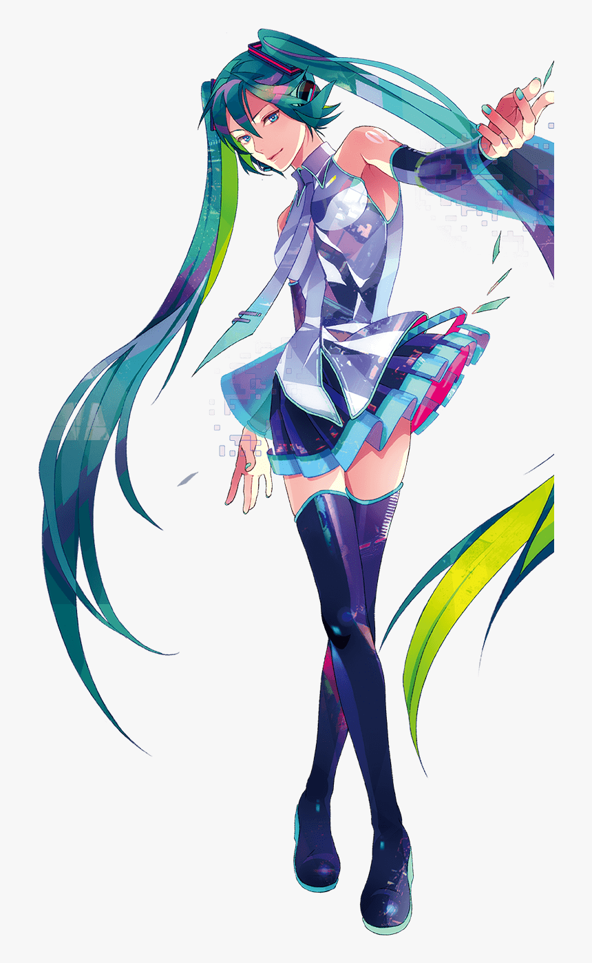 A Decidedly Foreign-looking Miku - Hatsune Miku V3 English, HD Png Download, Free Download
