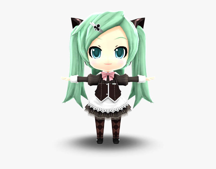 Download Zip Archive - Hatsune Miku Project Mirai Dx Clover Club, HD Png Download, Free Download