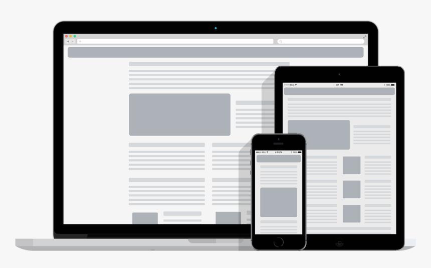 Responsive Web Design - Free Responsive Theme Prestashop, HD Png Download, Free Download
