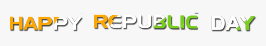 Republic Day Text Png - Paper Product, Transparent Png, Free Download