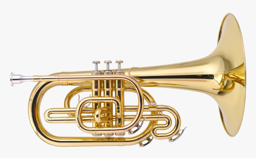 Jp2051 Marching Mellophone Lacquer Cutout - Mellophone Instrument, HD Png Download, Free Download