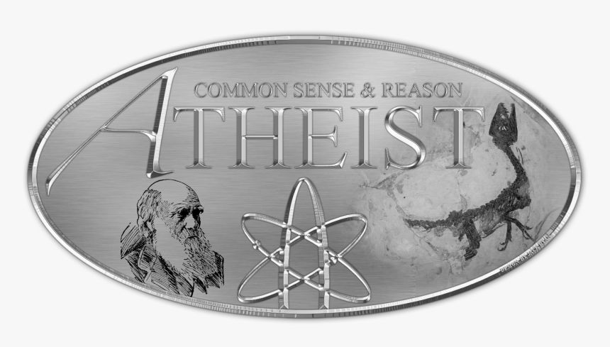 Atheist Logo Chrome - Atheism, HD Png Download, Free Download