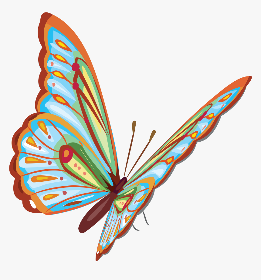 Happy 16th Birthday Wishes - Schmetterling Clipart, HD Png Download, Free Download