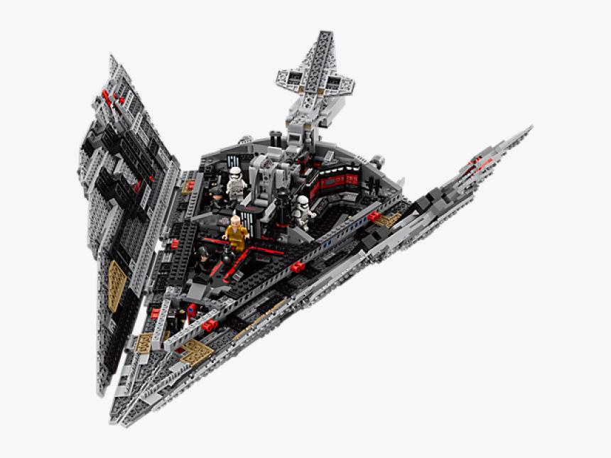 Transparent Super Star Destroyer Png - Lego Star Wars 75190, Png Download, Free Download