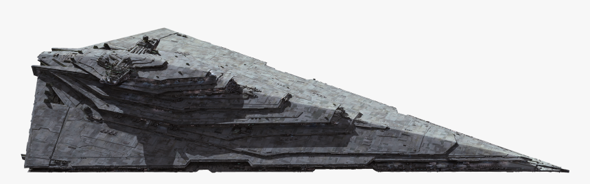 Magister-class Star Destroyer Role - Transparent First Order Star Destroyer, HD Png Download, Free Download