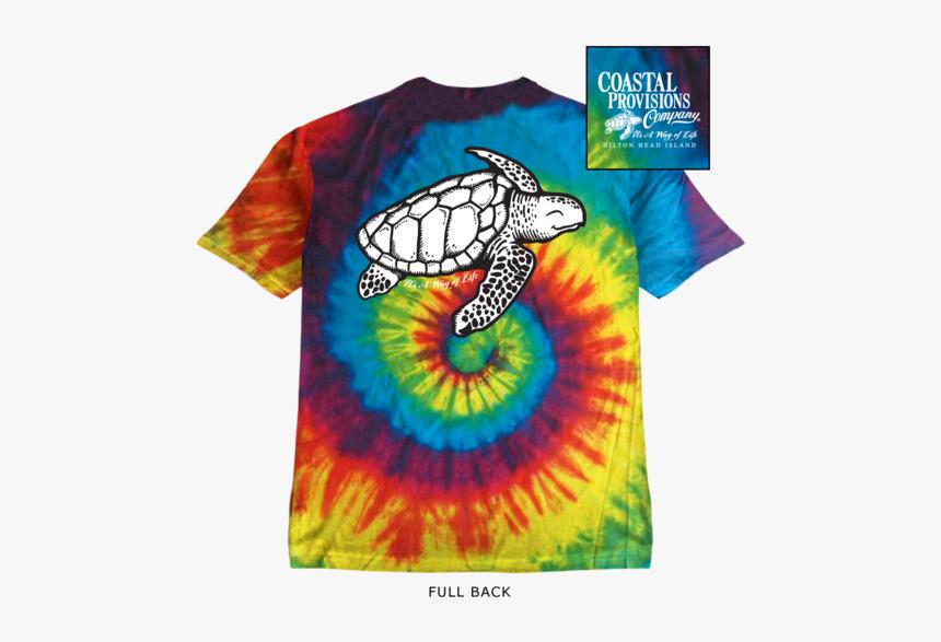 Youth Tie Dye Shoogie The Sea Turtle - Loggerhead Sea Turtle, HD Png Download, Free Download