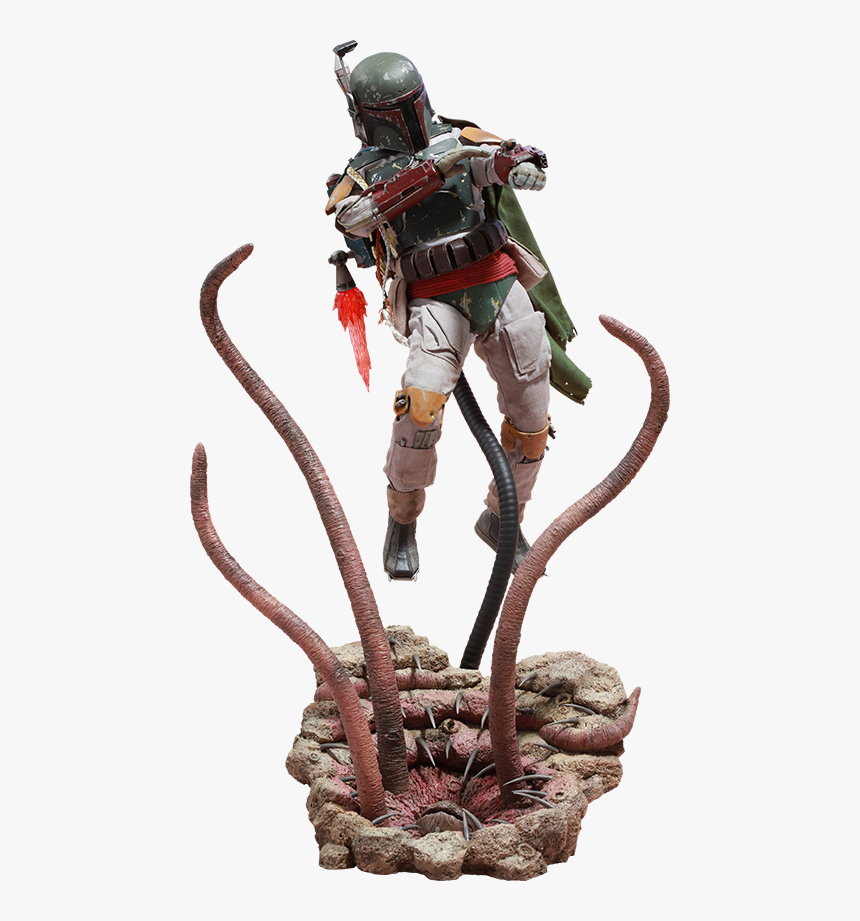 Hot Toys Boba Fett Deluxe Version Sixth Scale Figure - Star Wars Action Figures Boba Fett, HD Png Download, Free Download