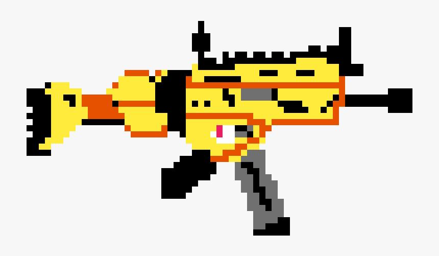 Scar From Fortnite Pixel Art Sniper Fortnite Hd Png