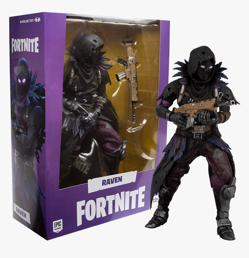 Fortnite Raven Action Figure, HD Png Download, Free Download