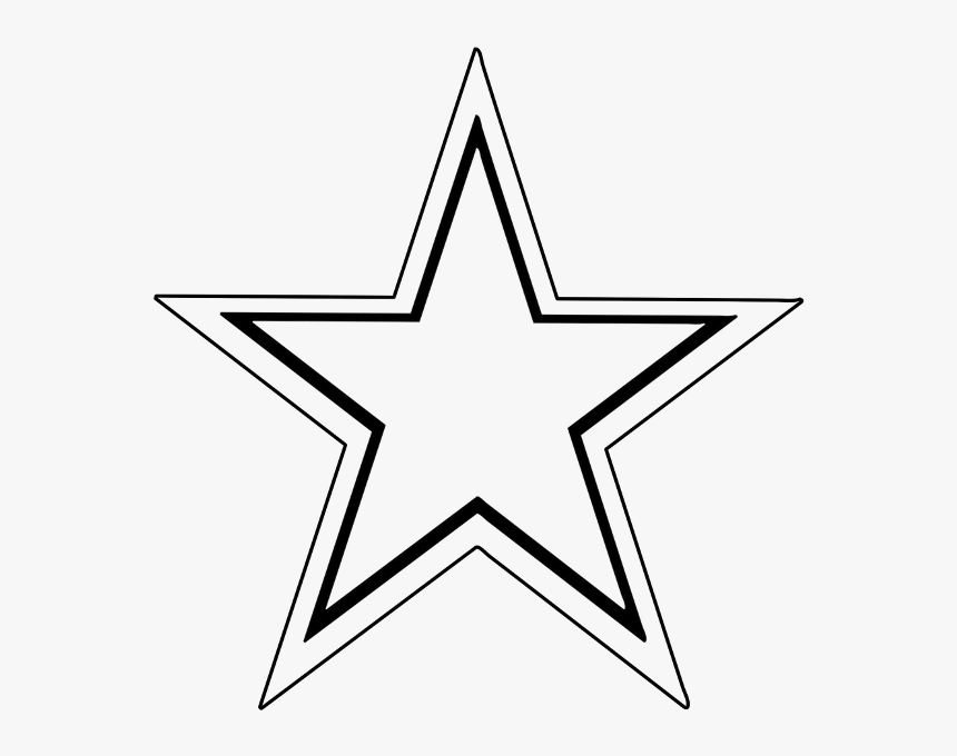 Star Outline Star Clip Art Outline Free Clipart Images - Clip Art Star, HD Png Download, Free Download