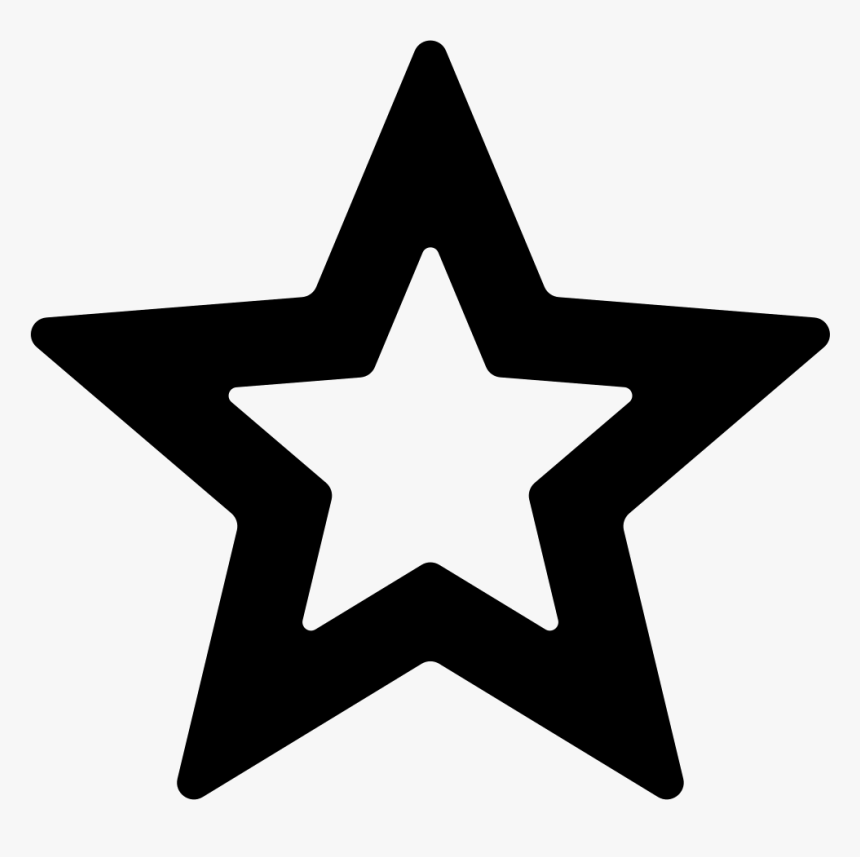 Star Outline - 512 By 512 Pixels, HD Png Download, Free Download