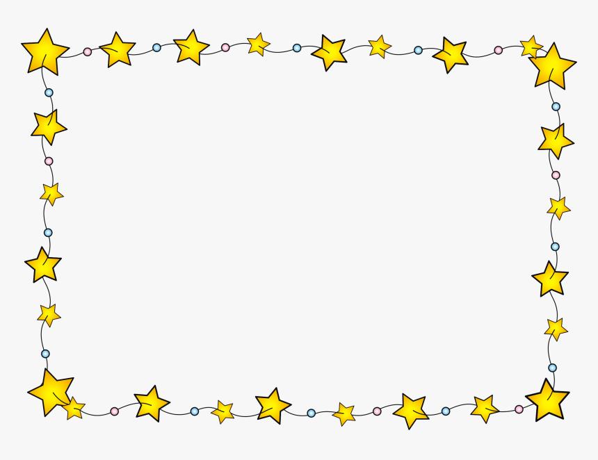 Stars Border Vector Png Download - Star Border Png, Transparent Png, Free Download