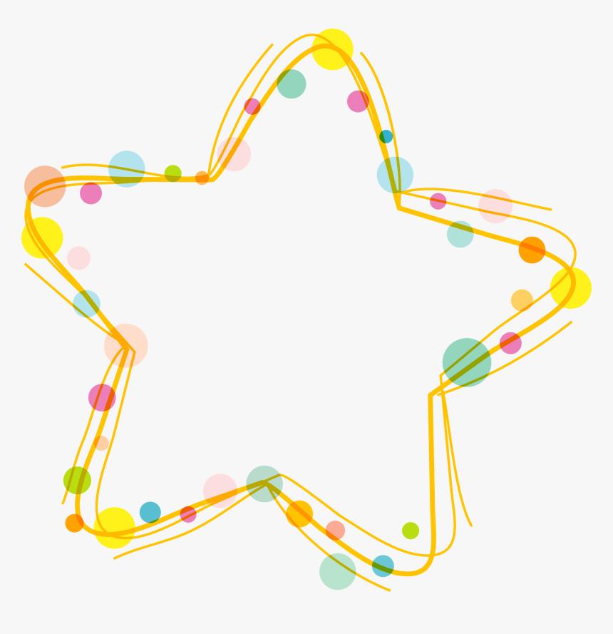 Download Clip Art - Border Stars Clipart, HD Png Download, Free Download