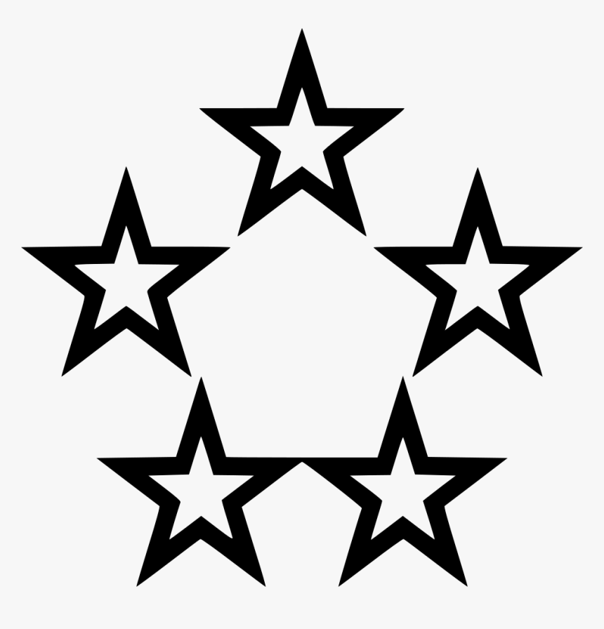 Five Stars Video Gaming Comments - Star On Off Icon, HD Png Download, Free Download