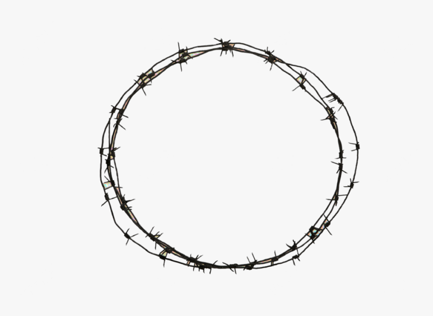 Barbwire Png - Barbed Wire Circle Clipart, Transparent Png, Free Download