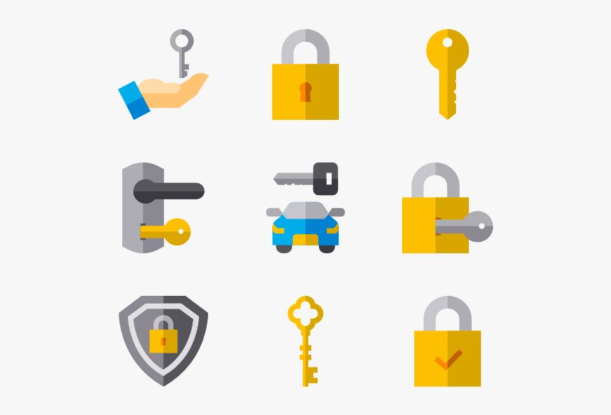 Keys Locks - Lock Key Icon Png, Transparent Png, Free Download