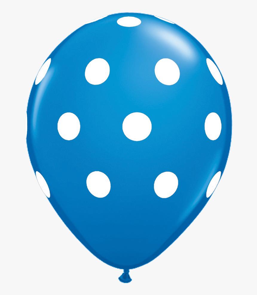 Blue Polka Dot Balloon, HD Png Download, Free Download