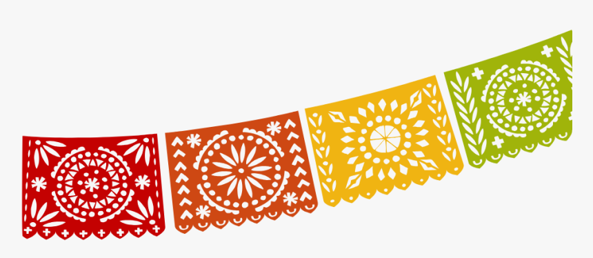View Menu - Motif - Clipart Transparent Mexican Banners, HD Png Download, Free Download