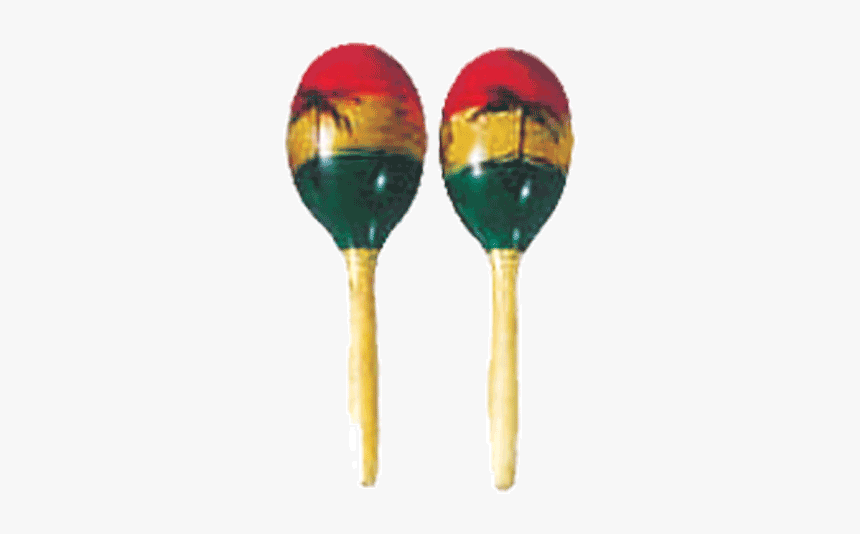 Mano Percussion Ed764 Wooden Oval Shape Maracas - Maraca Png, Transparent Png, Free Download