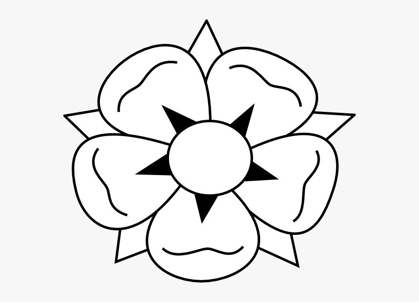 Clip Art Free How To Draw - Drawing How To Draw Flowers, HD Png Download, Free Download
