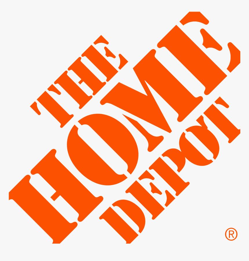 Logo Home Depot Png, Transparent Png, Free Download