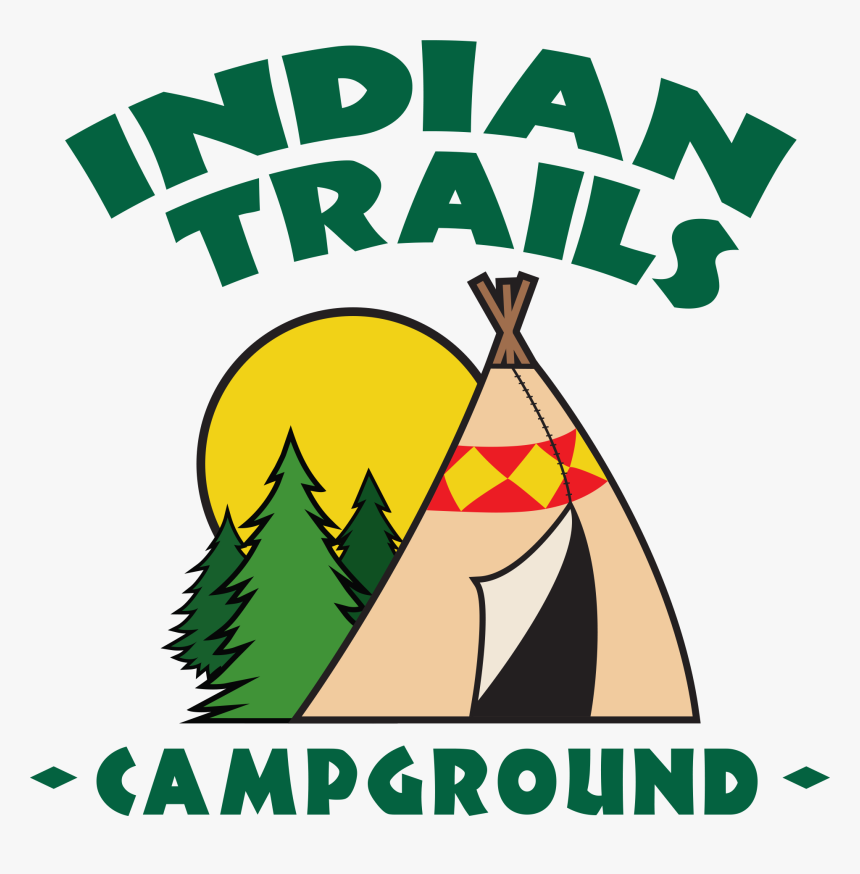 Transparent Rocket Trail Png - Campground Logo, Png Download, Free Download