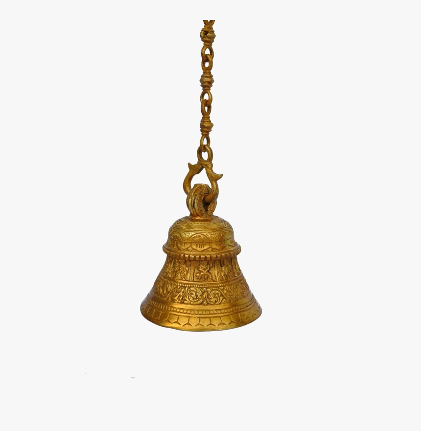 Transparent Bell Png - Hindu Temple Bell Png, Png Download, Free Download