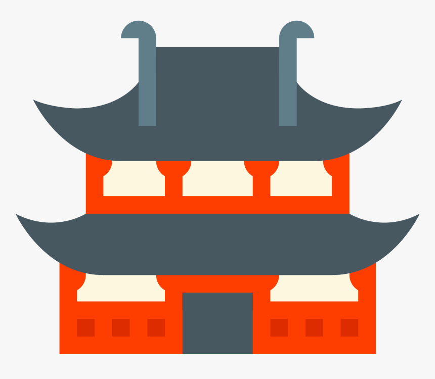 Temple Icon - Temple Icon Png, Transparent Png, Free Download