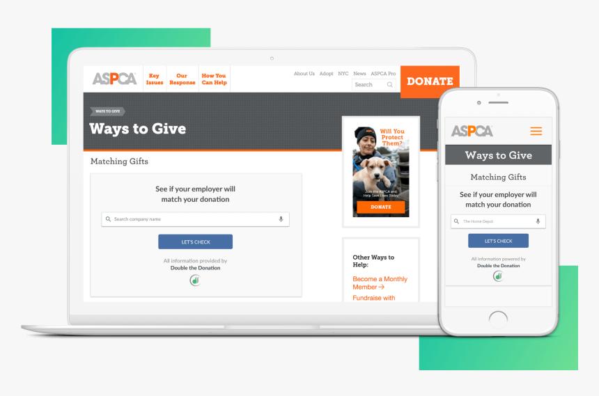 Premium Matching Gift Plugin Header Image - Donate To Us Website, HD Png Download, Free Download