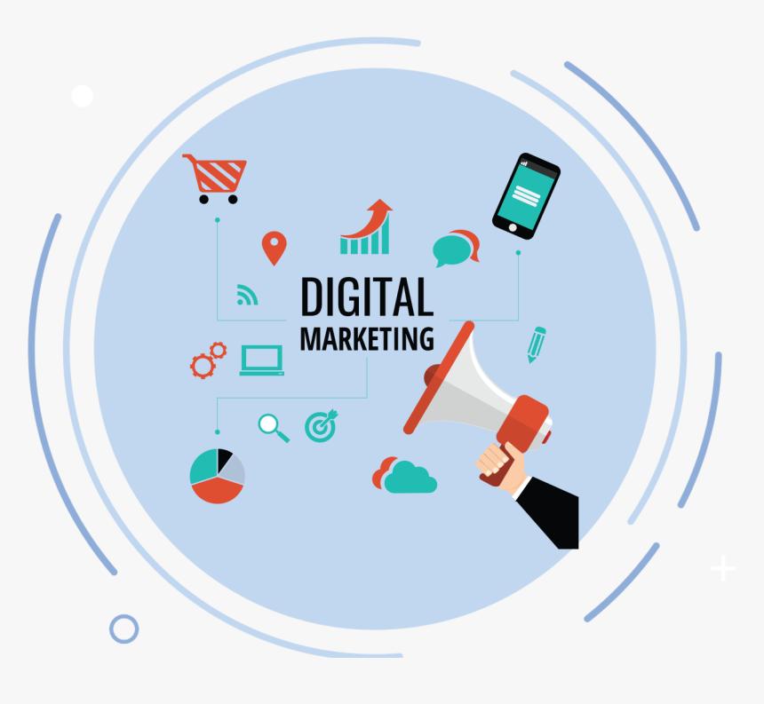 Digital Marketing Latest Post - Digital Marketing Images Png, Transparent Png, Free Download