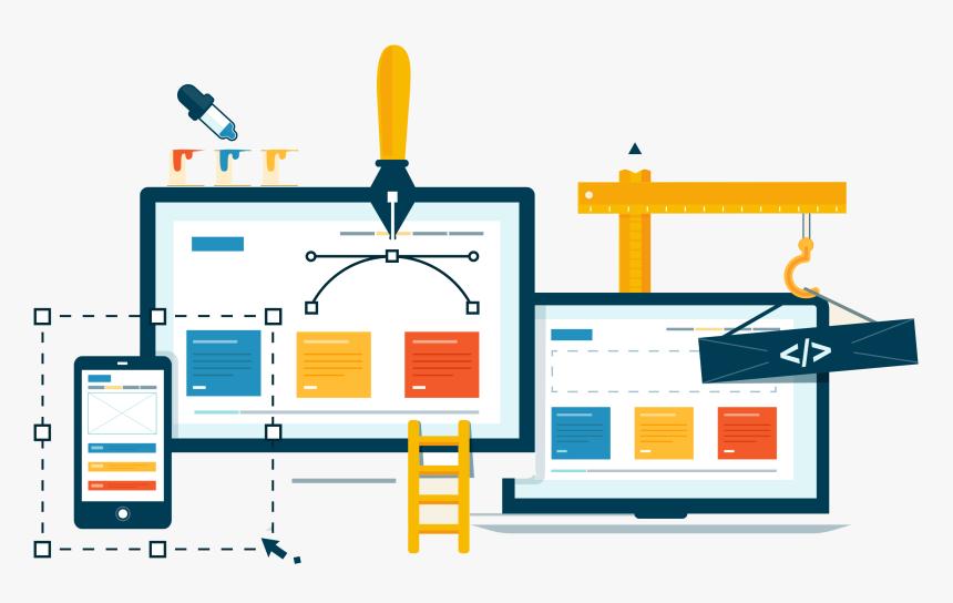 Web Development Clipart Free Website Creative Web Design Banner Hd Png Download Kindpng