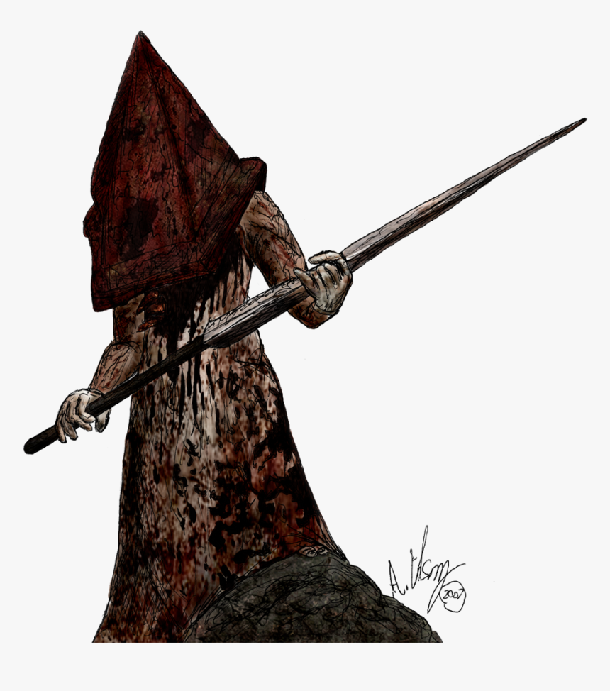 Dane Character Knight Silent Hill Pyramid Head Png Transparent