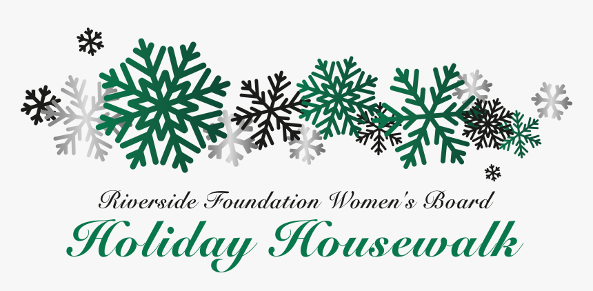 Transparent House Foundation Clipart - Free Red Snowflake Border, HD Png Download, Free Download