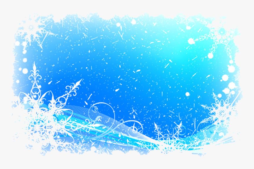 Ice And Snow Border Png Download - Ice Border Png, Transparent Png, Free Download