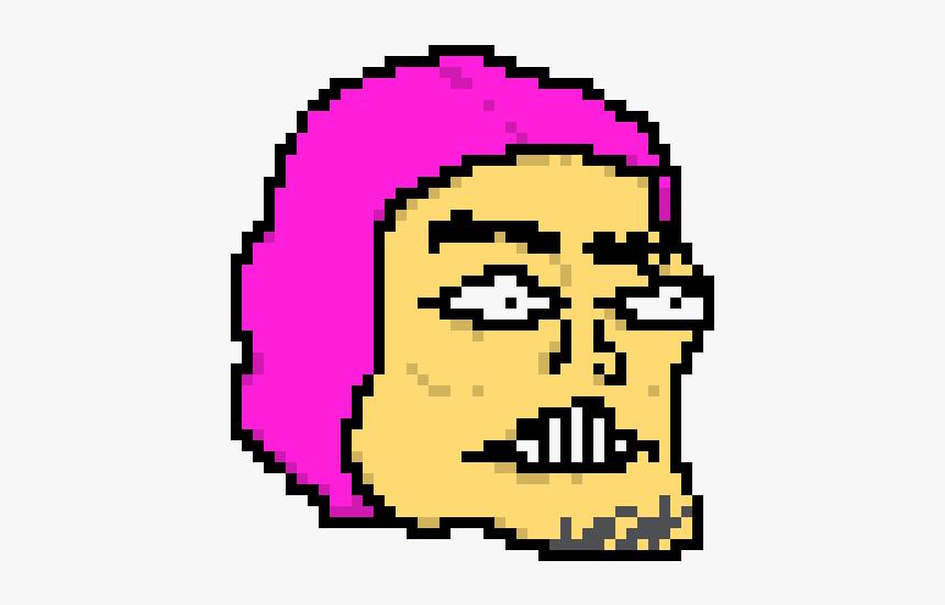 Pink Guy Pixel Art, HD Png Download, Free Download