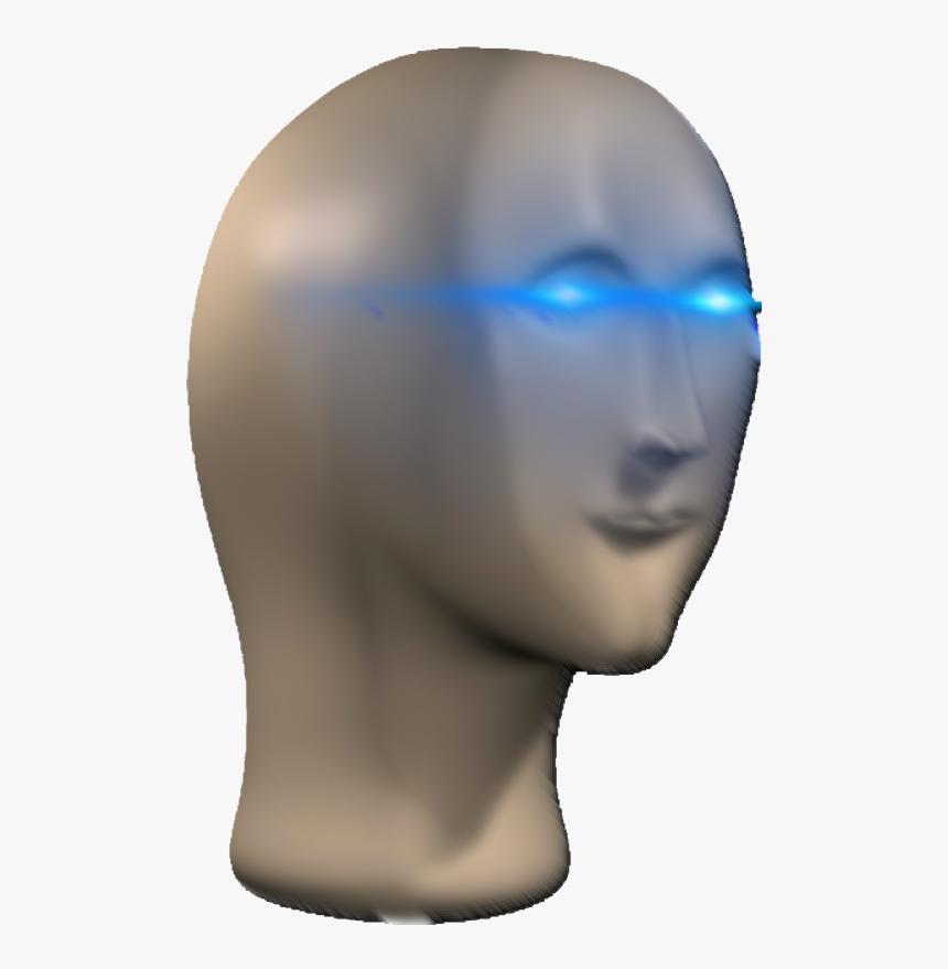 Transparent Eye Glow Meme Png - Bust, Png Download, Free Download