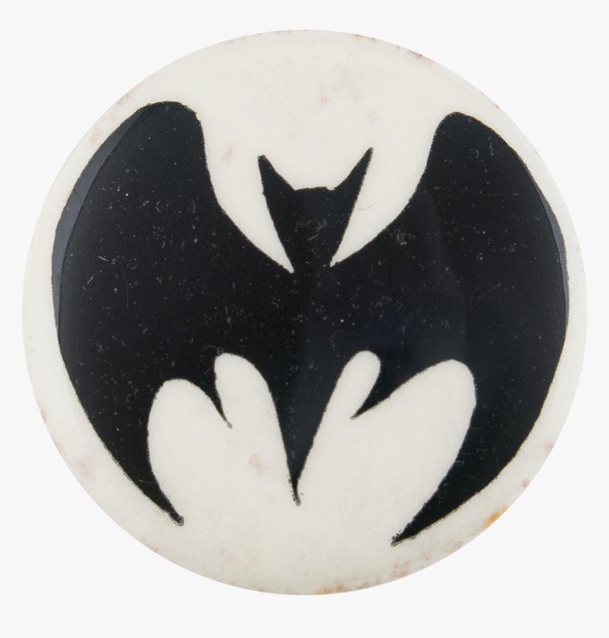 Batman Bat Symbol Entertainment Button Museum - Crescent, HD Png Download, Free Download