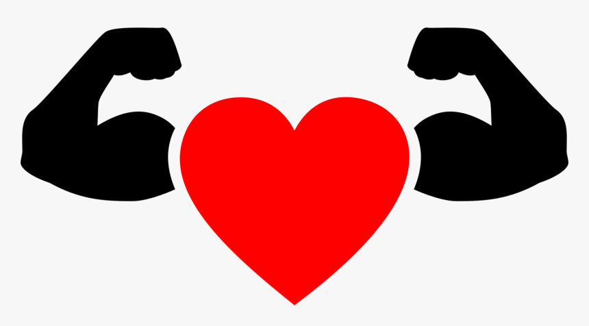 Heart,love,organ - Heart Strong Icon Png, Transparent Png, Free Download