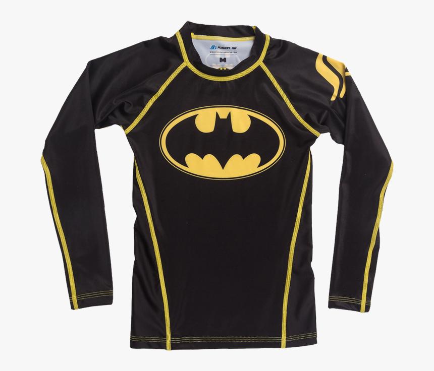 Детский Рашгард Fusion Batman - Kids Batman Rashguard, HD Png Download, Free Download