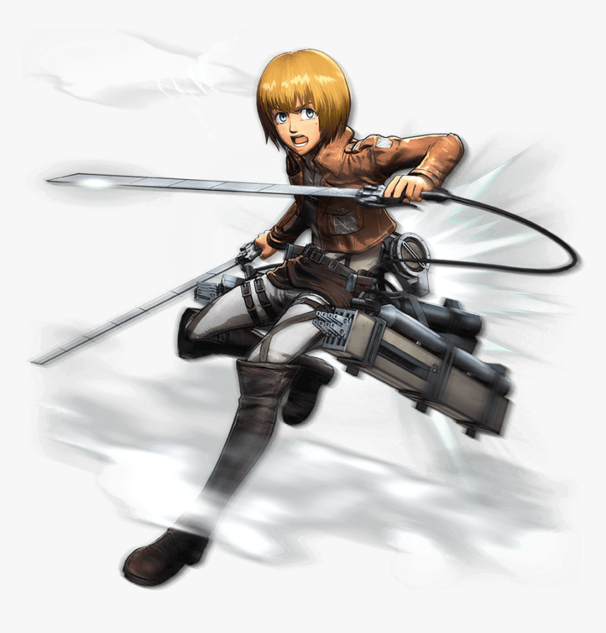 Armin Attack On Titan Armin Png Transparent Png Kindpng