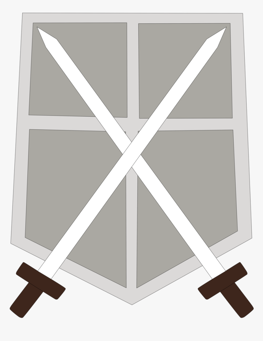 Attack On Titan Wiki - Training Corps Logo Aot, HD Png Download, Free Download