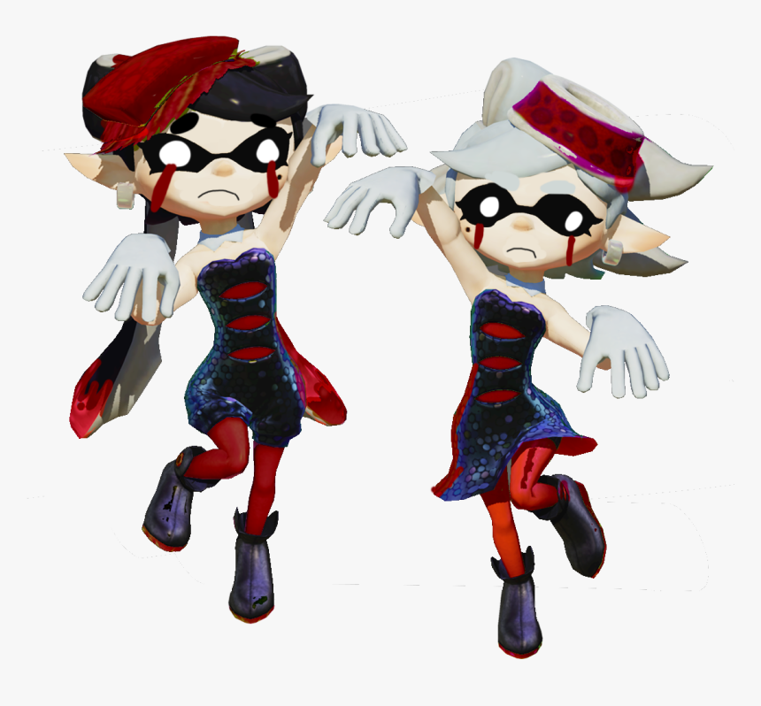 Evil Clipart Squid - Squid Sisters Callie Splatoon, HD Png Download, Free Download