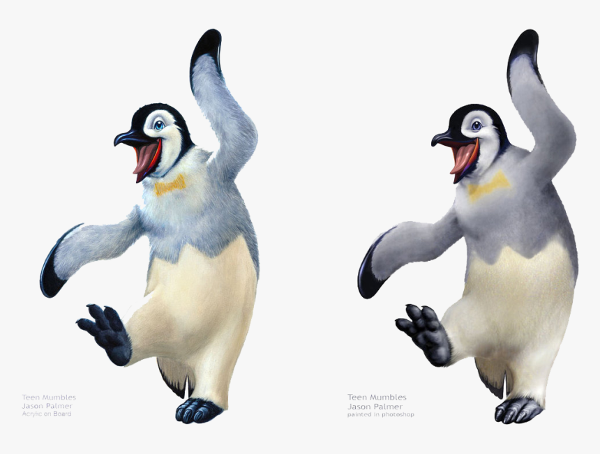 Happy Feet Png File - Happy Feet Mumble Feet, Transparent Png, Free Download