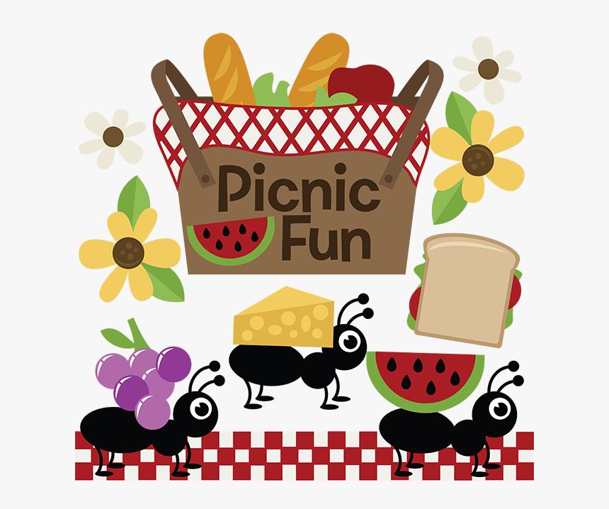 Cute Picnic Clipart, HD Png Download - kindpng