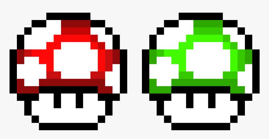 Super Mario World Mushroom Pixel Art Png Download Super Mario