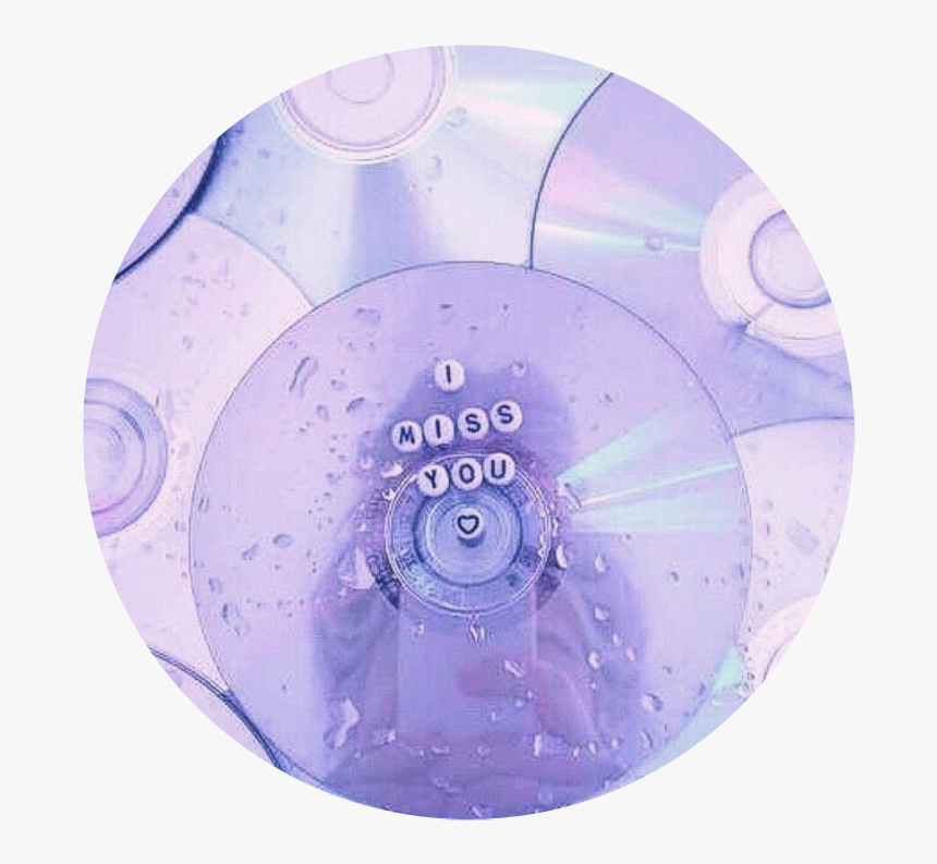 #circle #png #tumblr #aesthetic #remixit #overlay#backgroud - Pastel Tumblr Aesthetic Purple, Transparent Png, Free Download
