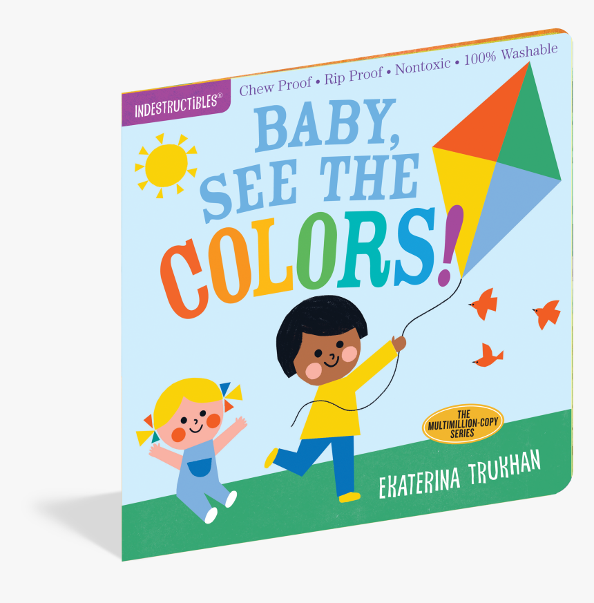 Indestructibles Baby Books - Cartoon, HD Png Download, Free Download
