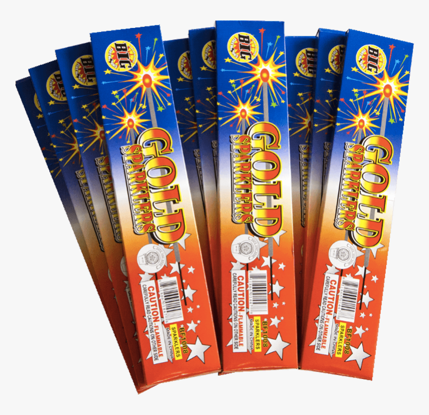 8 Bamboo Gold Sparkler - Food, HD Png Download, Free Download