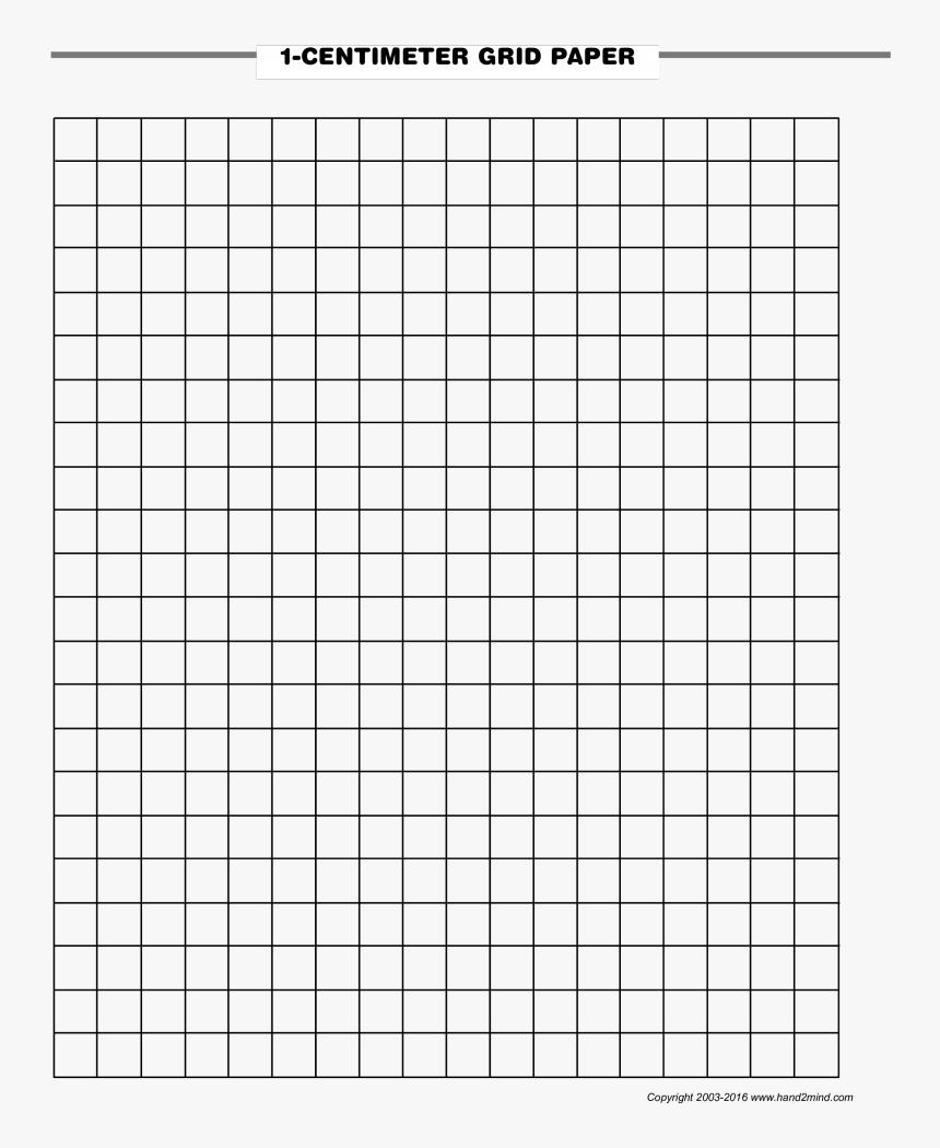 1 Centimeter Graph Paper - Grid Paper Pdf, HD Png Download, Free Download
